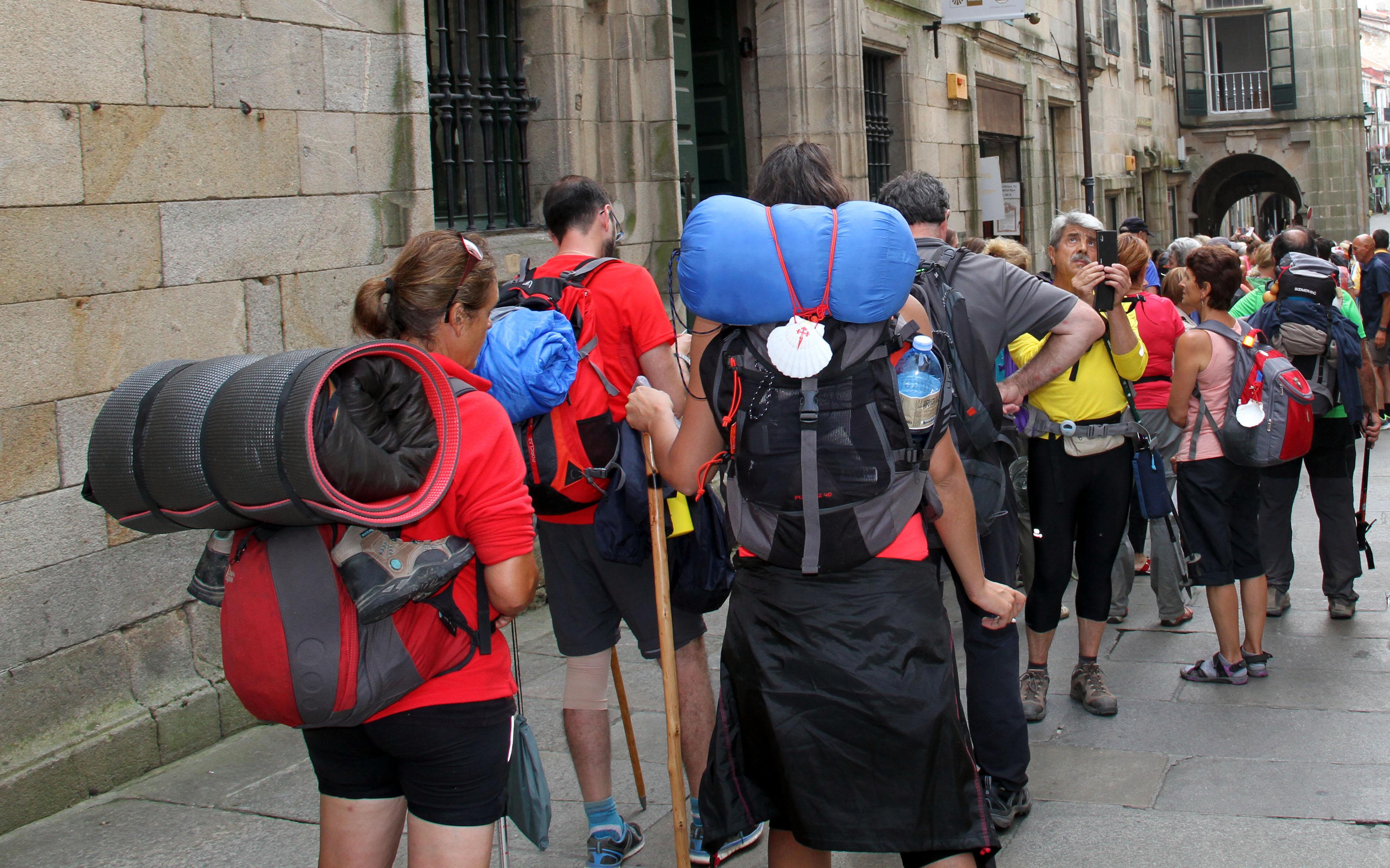 Galicia turismo peregrinos santiago mayo 2016 for Oficina de turismo santiago de compostela