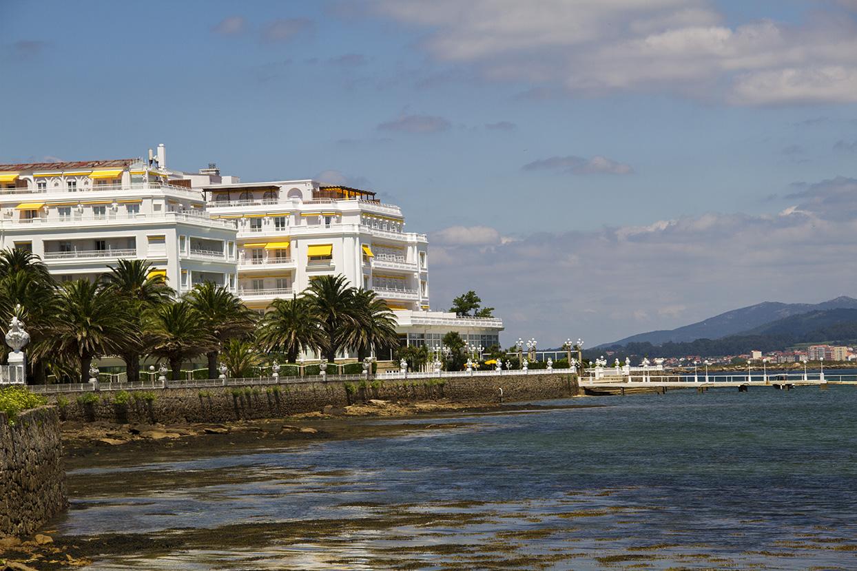 Galicia turismo isla de la toja illa da toxa for Hotel luxury la toja